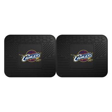 FANMATS Cleveland Cavaliers 2-Pack Utility Backseat Car Mats