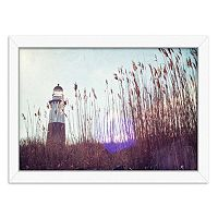 Americanflat Lighthouse Framed Wall Art