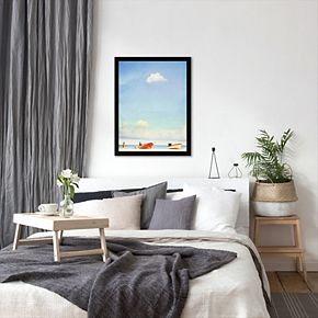 Americanflat Lonely Skies Mexico Framed Wall Art