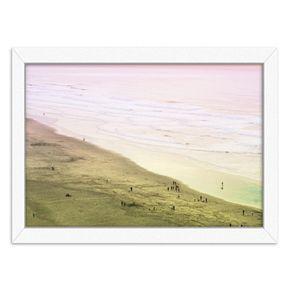 Americanflat Ocean Beach Framed Wall Art