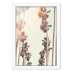 Americanflat Palm Framed Wall Art