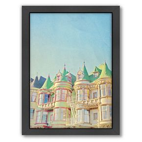 Americanflat San Francisco Tops 2 Framed Wall Art