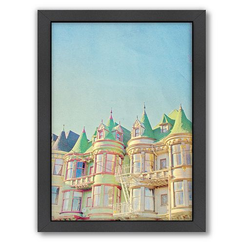 Americanflat San Francisco Tops 2 Framed Wall Art