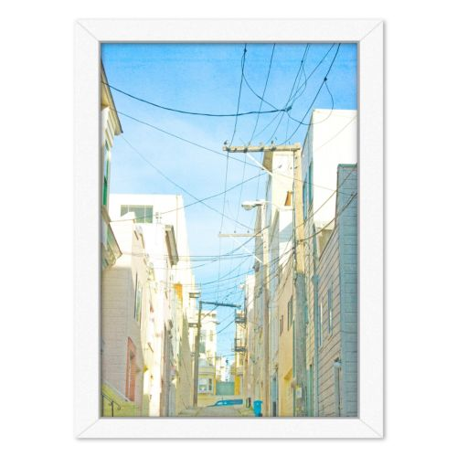 Americanflat San Francisco Tops 4 Framed Wall Art