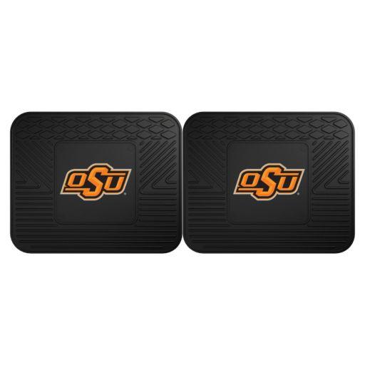 FANMATS Oklahoma State Cowboys 2-Pack Utility Backseat Car Mats