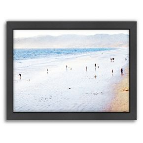Americanflat Santa Monica Framed Wall Art