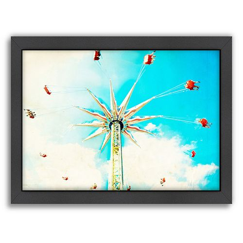 Americanflat Spin Framed Wall Art