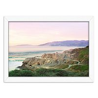 Americanflat Sutro Baths Framed Wall Art