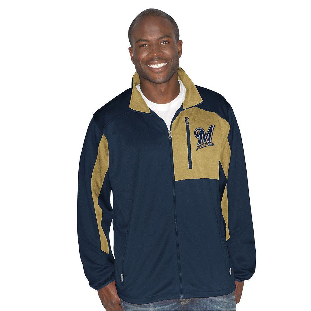 Men's Milwaukee Brewers Player Full-Zip Jacket