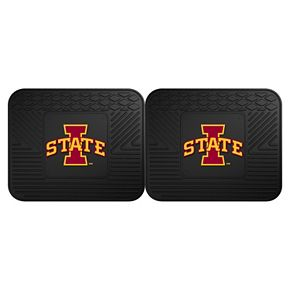 FANMATS Iowa State Cyclones 2-Pack Utility Backseat Car Mats