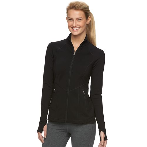 Women's Tek Gear® DRY TEK Shapewear Running Jacket