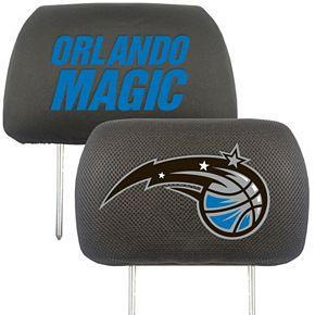 FANMATS Orlando Magic 2-pc. Head Rest Covers