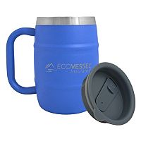 EcoVessel Color Double Barrel Insulated Stainless Steel Mug