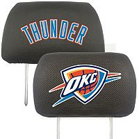FANMATS Oklahoma City Thunder 2-pc. Head Rest Covers