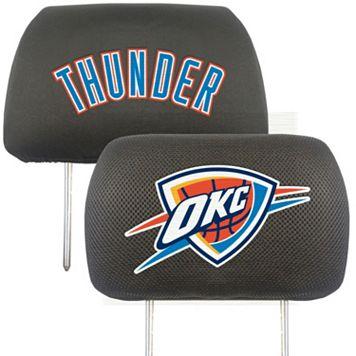 FANMATS Oklahoma City Thunder 2-pc. Head Rest Covers