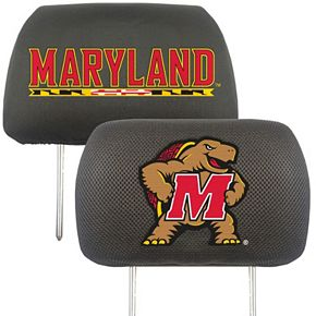 FANMATS Maryland Terrapins 2-pc. Head Rest Covers