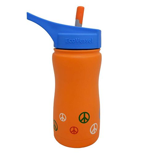 Kids EcoVessel Frost Triple-Insulated Stainless Steel Water Bottle