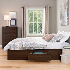 Prepac Harbor Mate Platform 6-Drawer Storage Bed