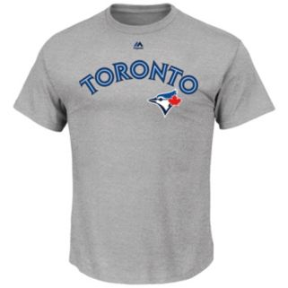Big & Tall Majestic Toronto Blue Jays Official Road Wordmark Tee