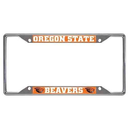 Oregon State Beavers License Plate Frame