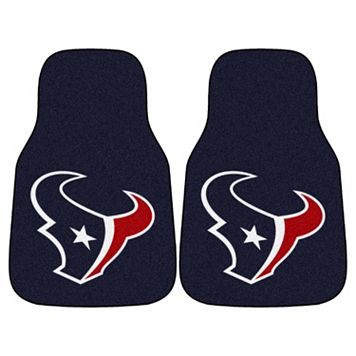 FANMATS Houston Texans 2-Pack Carpeted Car Mats
