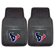 FANMATS Houston Texans 2-Pack Heavy Duty Car Mats