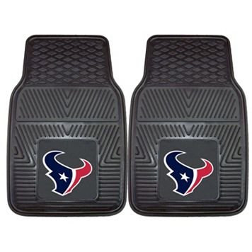 FANMATS Houston Texans 2-Pack Heavy Duty Car Mats