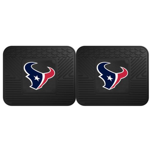 FANMATS Houston Texans 2-Pack Utility Mats