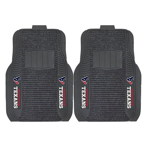 FANMATS Houston Texans 2-Pack Deluxe Car Mats