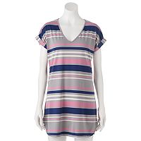 Juniors' Liberty Love T-Shirt Shift Dress