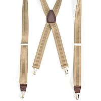 Men's Wembley Striped Suspenders