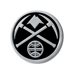 Denver Nuggets Chrome Emblem