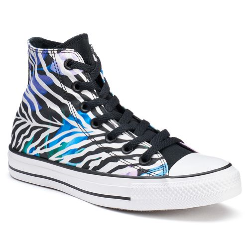 8c6572a78a400d Women s Converse Chuck Taylor All Star All Star Animal Print Floral  High-Top Sneakers