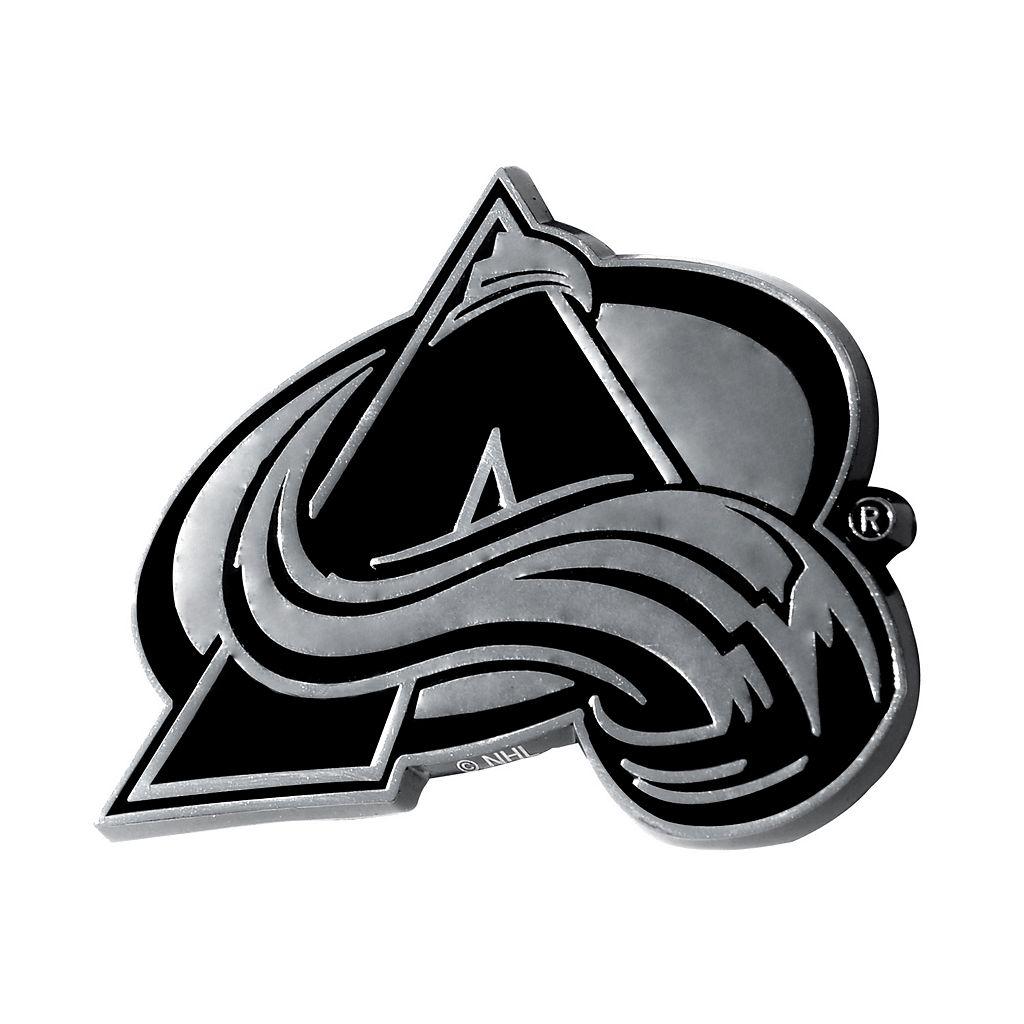 Colorado Avalanche Chrome Emblem