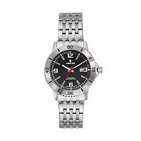 Croton Men's Aquamatic Stainless Steel Watch