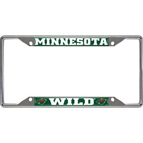 Minnesota Wild License Plate Frame