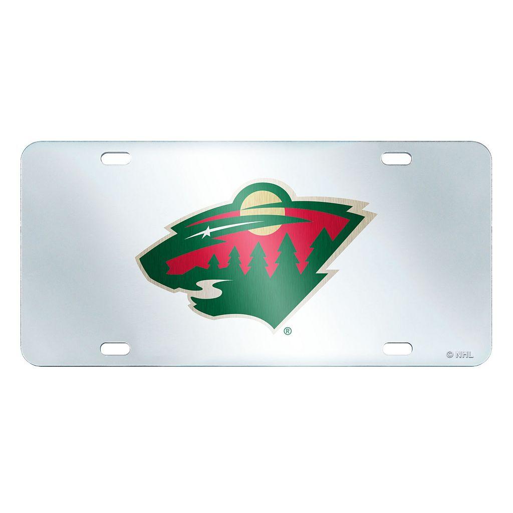 Minnesota Wild Mirror-Style License Plate