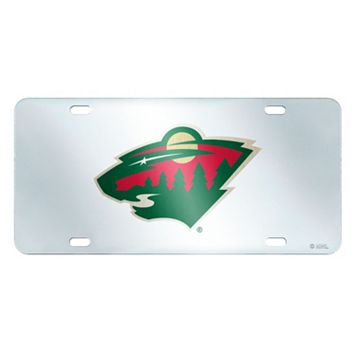 Minnesota Wild Mirror-Style License Plate