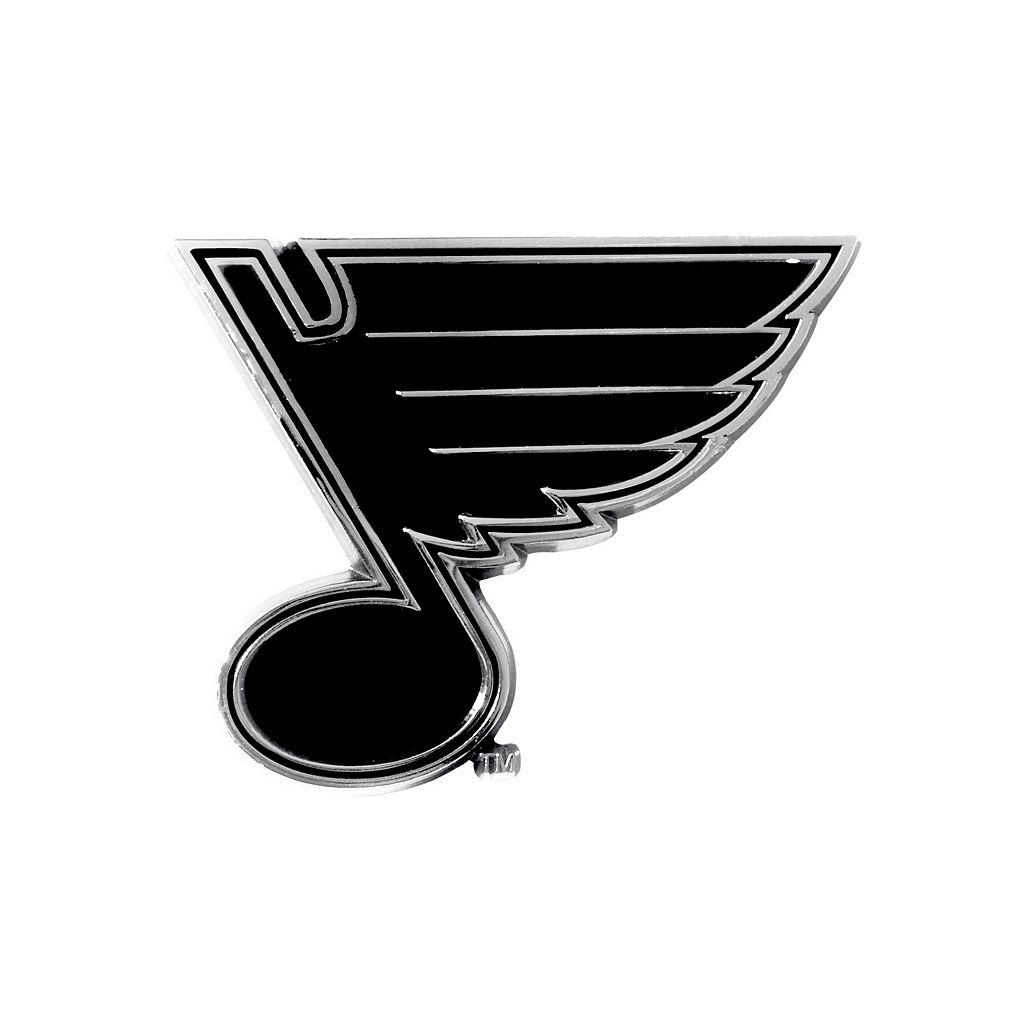 St. Louis Blues Chrome Emblem