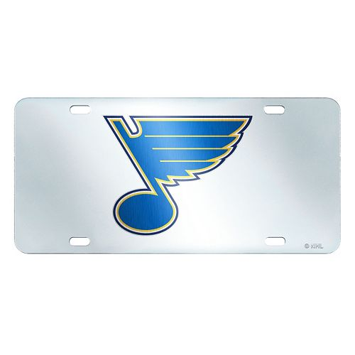 St. Louis Blues Mirror-Style License Plate