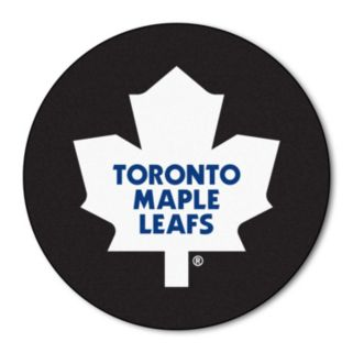FANMATS Toronto Maple Leafs Hockey Puck Rug