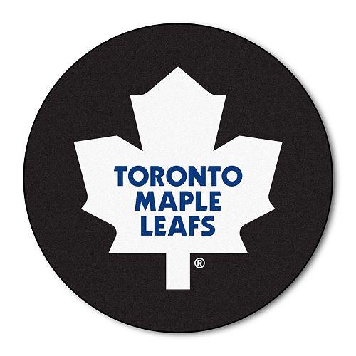 FANMATS Toronto Maple Leafs Hockey Puck Rug