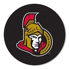 FANMATS Ottawa Senators Hockey Puck Rug