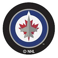FANMATS Winnipeg Jets Hockey Puck Rug