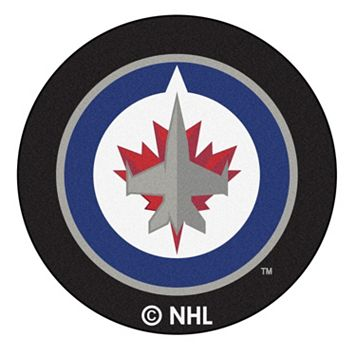 FANMATS Winnipeg Jets Hockey Puck Rug