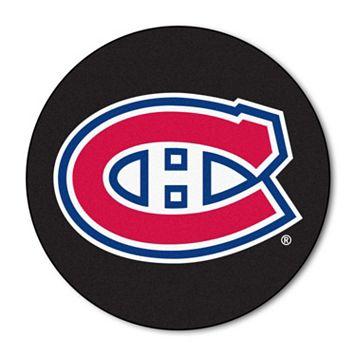 FANMATS Montreal Canadiens Hockey Puck Rug