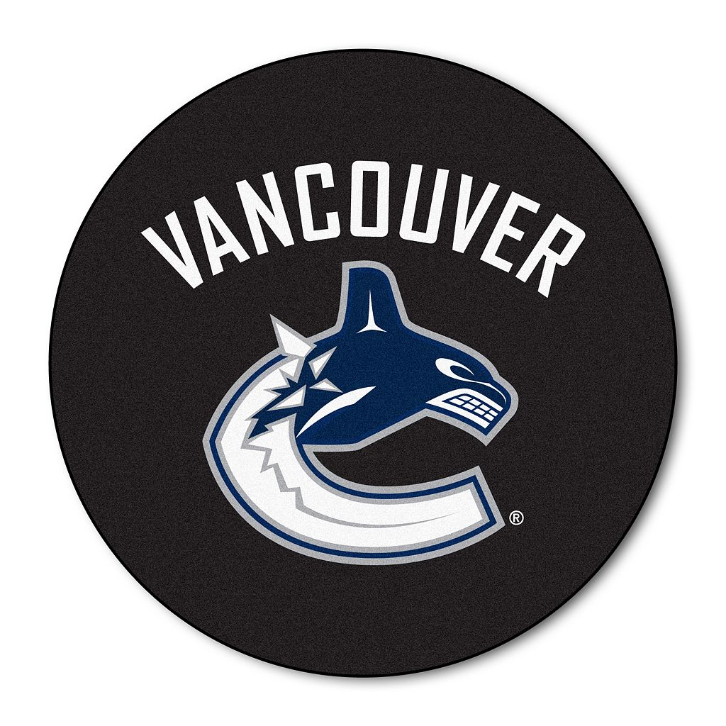 FANMATS Vancouver Canucks Hockey Puck Rug