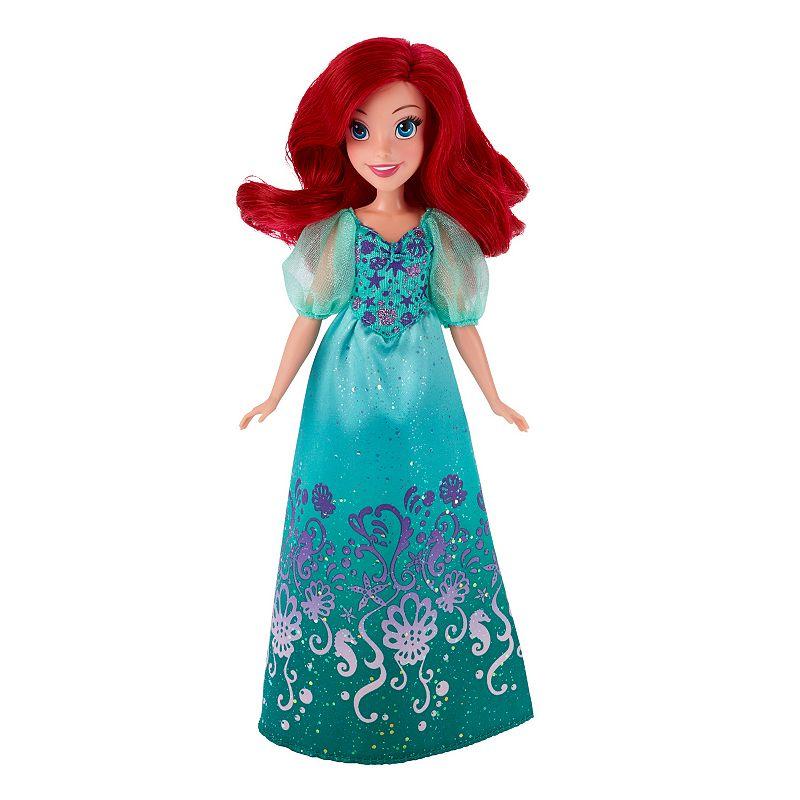 Disney Princess Royal Shimmer Ariel Doll, Multicolor