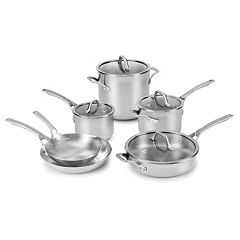 Calphalon Signature 10-pc. Stainless Steel Cookware Set