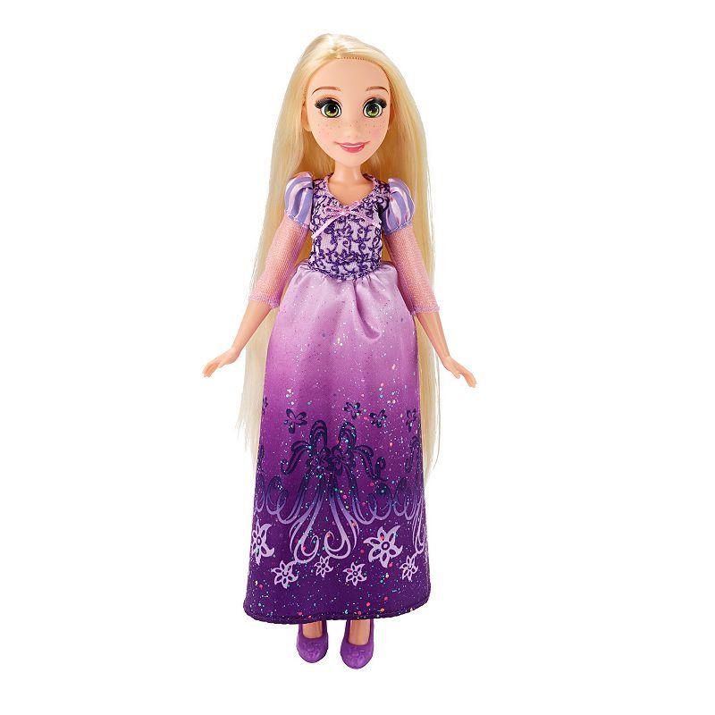 Disney Princess Royal Shimmer Rapunzel Doll, Multicolor
